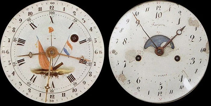 Clock from the times of the French Revolution