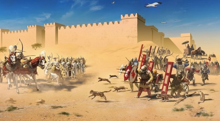 How the Persians defeated Egyptians by throwing Cats at Legendary Battle of Pelusium