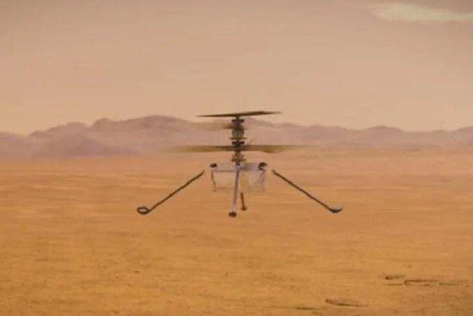Ingenuity helicopter milestone: flown over 1.6 kilometers over Mars