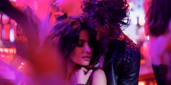 Leading actors Sarah Shahi and Adam Demos in 'Sex/Life'