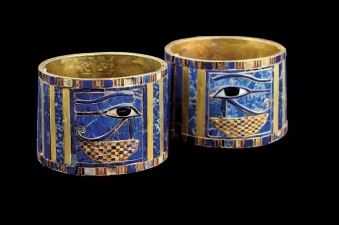 Bracelet of King Sheshonq II 22nd dynasty 887–885 BC.