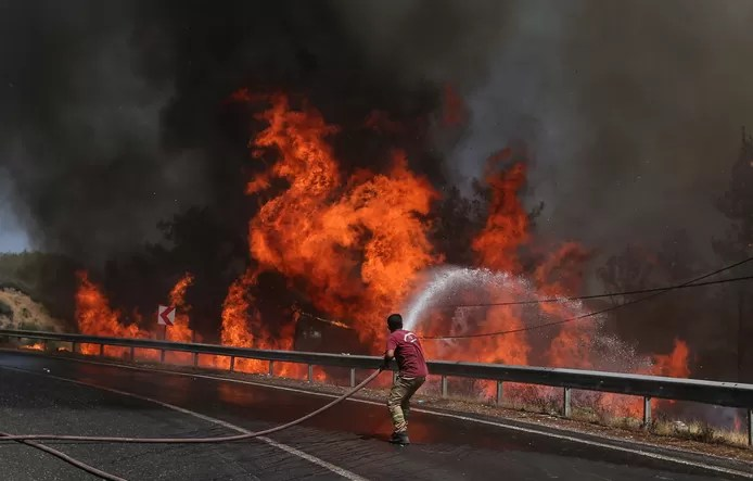 Kurdish group claims deadly fires in Turkey