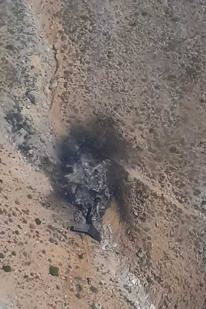 The plane crashed in a mountainous area in Turkey's Kahramanmaras region