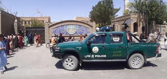 Taliban fighters in Herat
