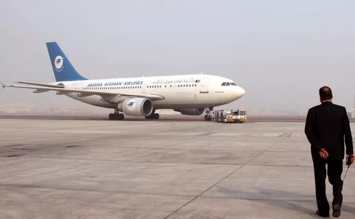 Afghan airline resumes domestic flights