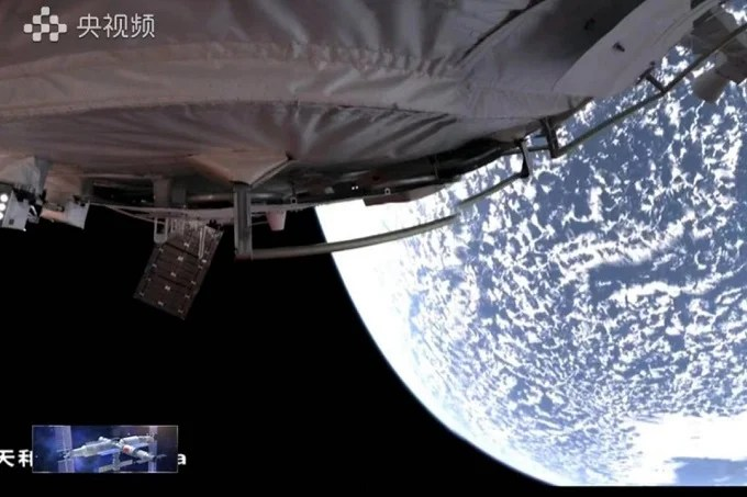 Chinese taikonauts begin their journey back to Earth