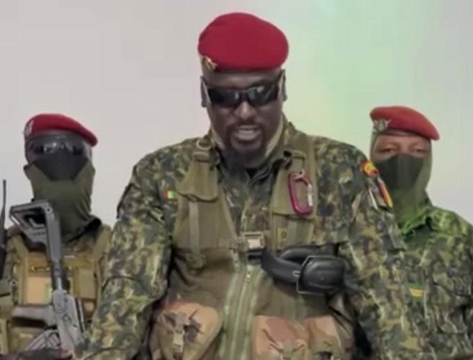 Lieutenant-Colonel Mamady Doumbouya
