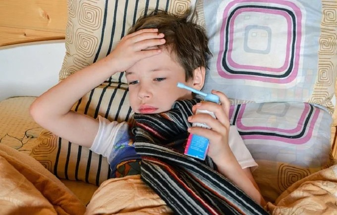 What diseases can cause negative emotions in children