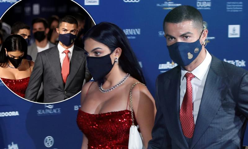 The Extraordinary Mask Of Georgina Rodriguez Wife Of Cristiano Ronaldo World Today News