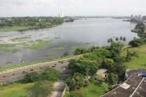 Abidjan et une partie de sa lagune / Abidjan and a little piece of the laguna