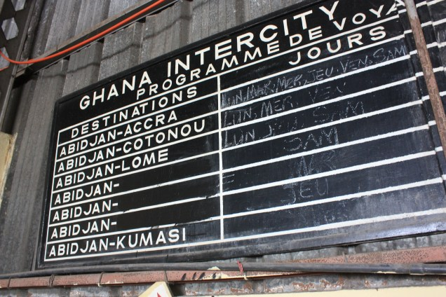 Il est temps de quitter la Côte d'Ivoire... / Time to leave Ivory Coast....