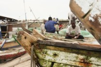 Les pêcheurs sont parfois en mer pendant une semaine entière / The fishermen leave sometimes for one whole week