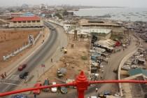 La vue sur Jamestown et le reste d'Accra, depuis le phare de Jamestown / A view on Jamestown and the rest of Accra from Jamestown lighthouse