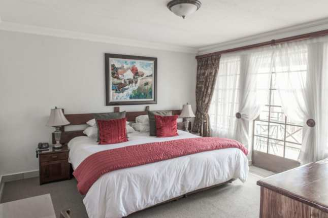 Four-star rooms central hotel boksburg