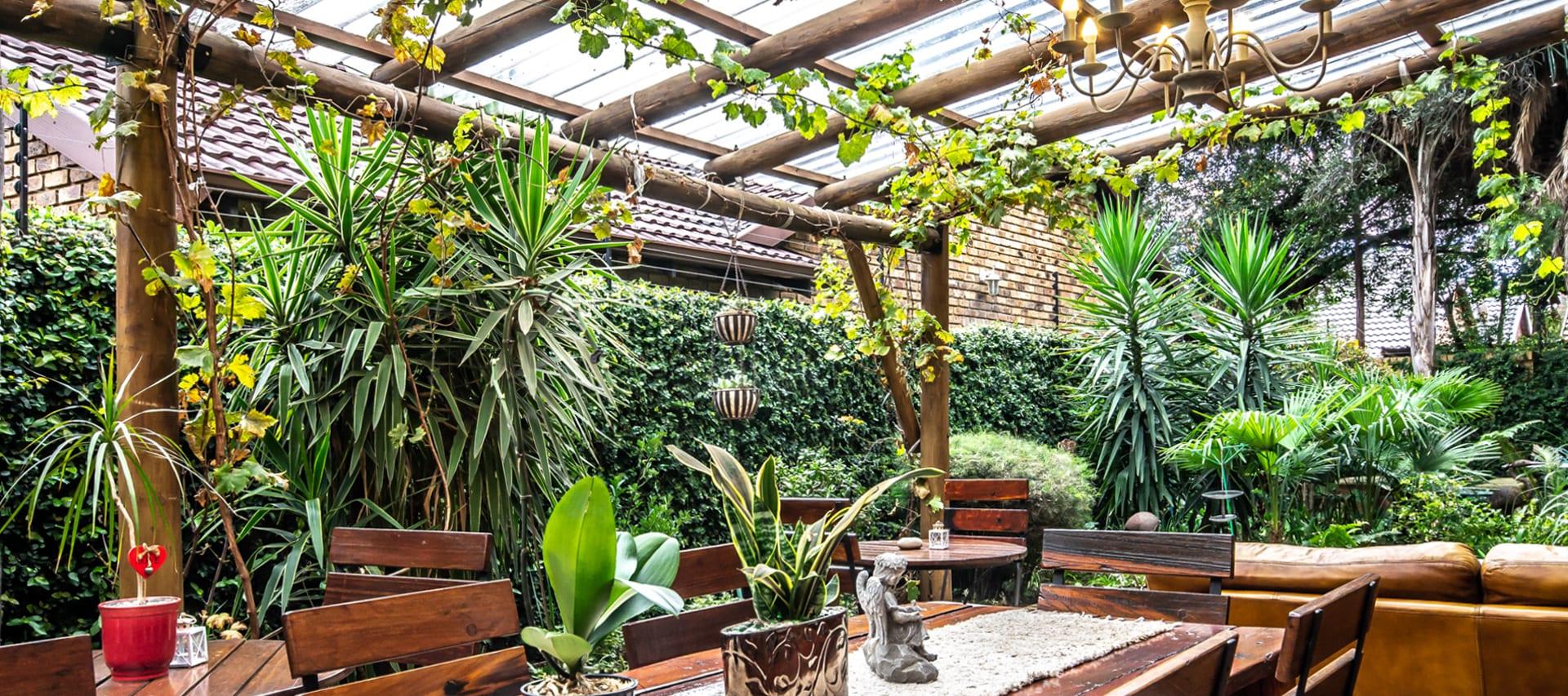 indoor outdoor areas small meeting venues