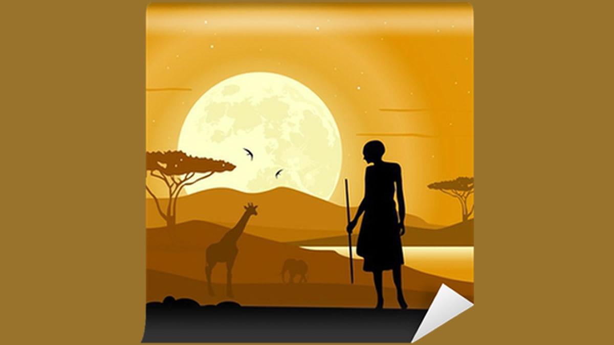 Conte du Mali, Mariko, le chasseur têtu et l'iguane d'eau