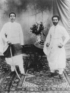 Ledj Lyasu et le Dejazmach Tafari