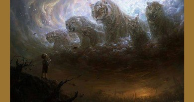 Papabondieu, l'homme et le tigre