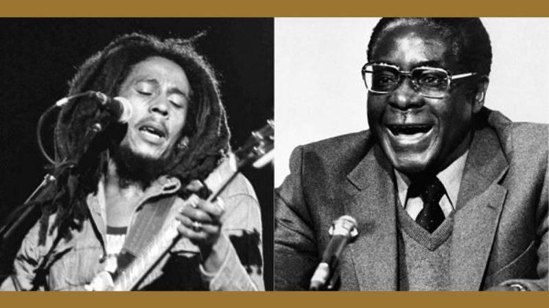 Quand Bob Marley et Robert Mugabe célébraient l'indépendance de la dernière colonie européenne d'Afrique