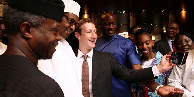 Mark Zuckerberg et la start-up Andela