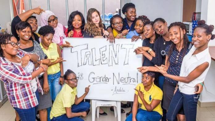 femmes chez la start-up Andela