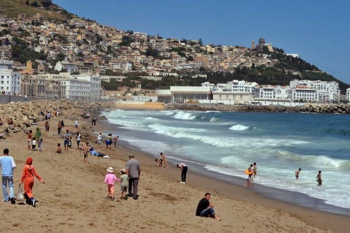 Alger. Bab El-Ouad beach
