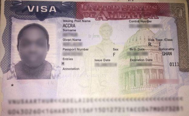 visa délivré par la fausse ambassade