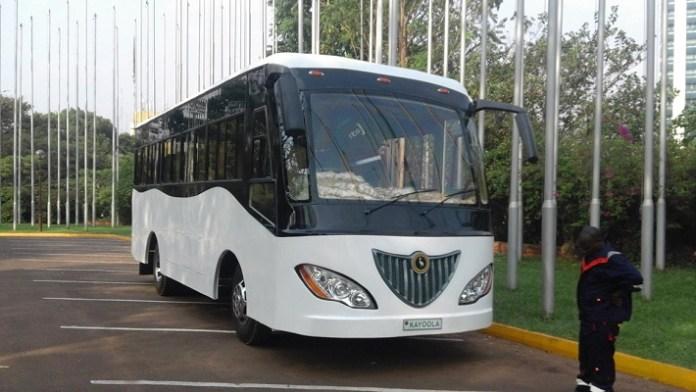 Kayoola : un bus africain qui marche à l'énergie solaire