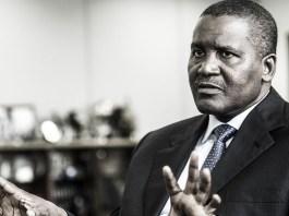 Aliko Dangote : 12,1 milliards de dollars, Nigérian