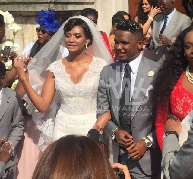 Samuel Eto'o et Georgette mariage
