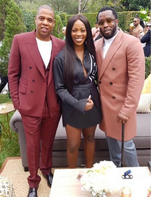 Jay-Z, Tiwa Savage & P.Diddy