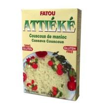 Attiéké Fatou : Couscous de manioc (sans gluten)
