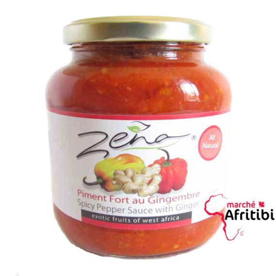 Spicy pepper sauce with ginger zena