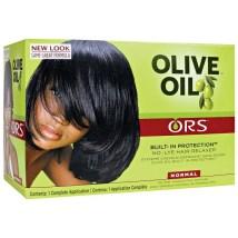 Défrisant sans soude à l'huile d'olive  - Organic Root Stimulator