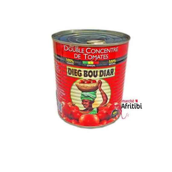 Double Concentre de Tomate - Dieg Bou Diar 800G chez #Afritibi