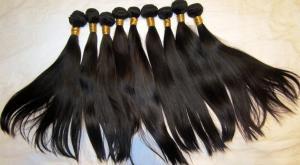 European Human Hair Weave Natural Straight