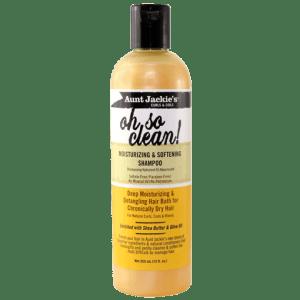 Aunt Jackies Oh So Clean Moisturizing & Softening Shampoo