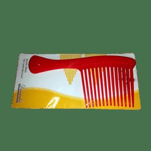 Haarkamm rot verpackt