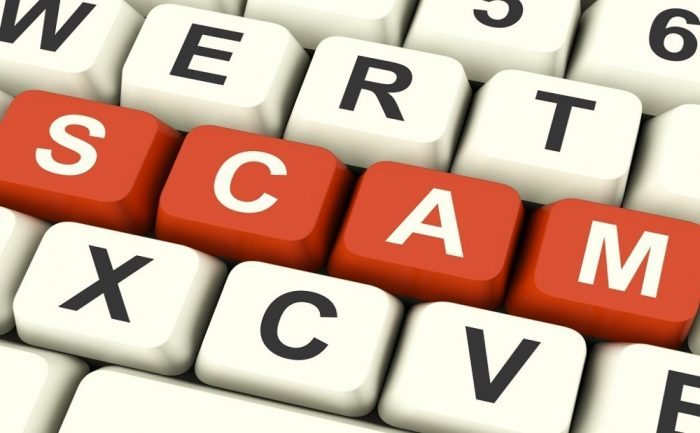 Scam and online fraud scamtember