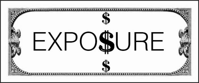 working for exposure