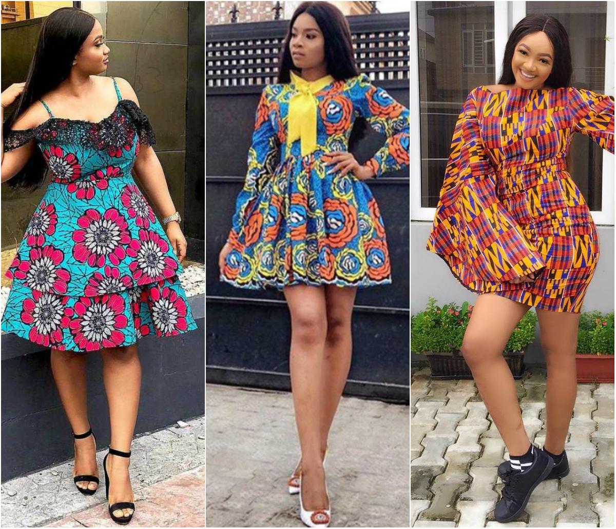 Amazing Ankara Short Dress Styles For Ladies 15 Looks