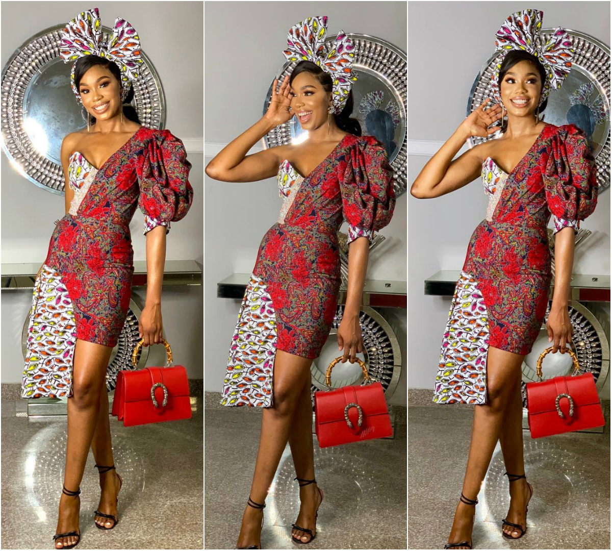 Steal This Ultra Chic Ankara Style From Sharon Ooja Egwurube
