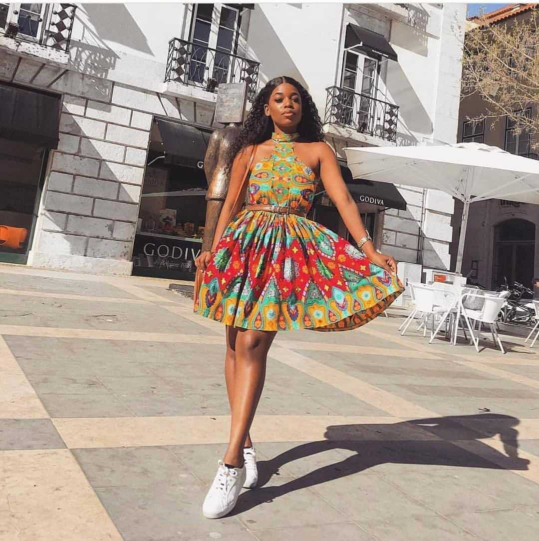 Ankara Styles For Teenagers : 50 Fabulous Looks To Steal