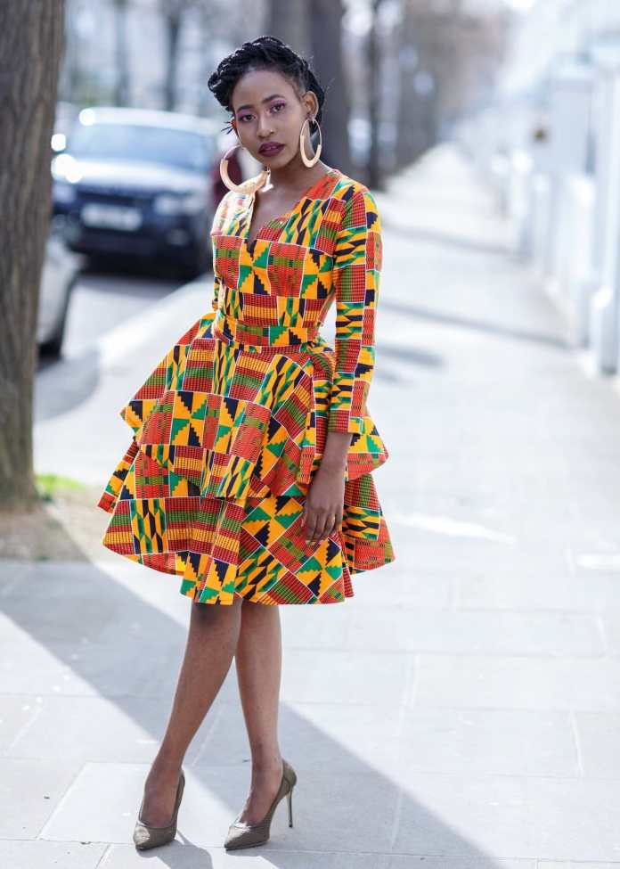 15 Stylish Ankara Short Dresses For Ladies - AfroCosmopolitan