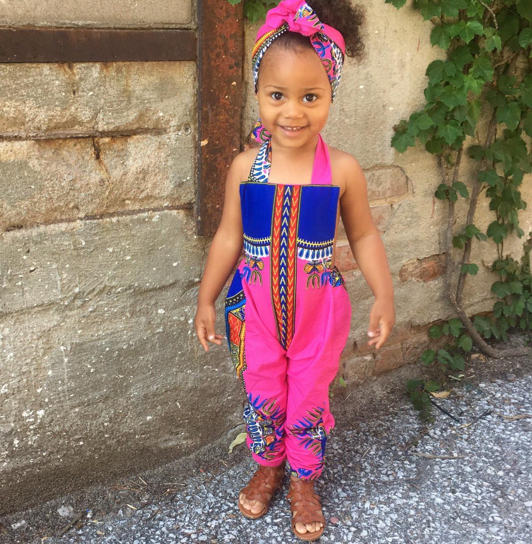 So Cute! African Print Romper Styles For Kids - AfroCosmopolitan