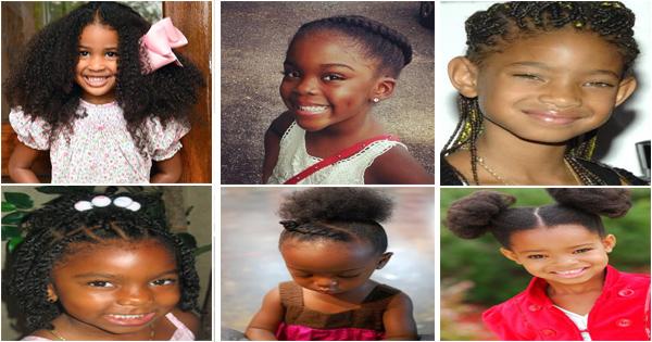 Coiffure Pour Fille Noir 10 Coiffures Pour Petites Filles
