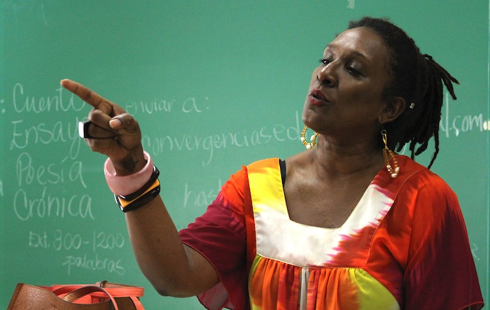 Mayra Santos-Febres. Fotografía de Ivana Alonso para Diálogo.