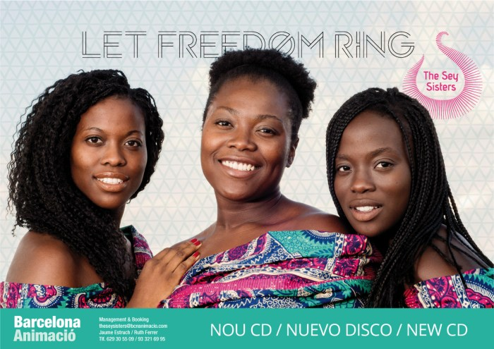 Cartel_The sey Sister_Afroféminas