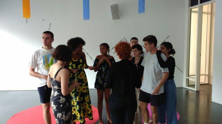 Taller Afroféminas sobre Microrracismos en el MACBA de Barcelona