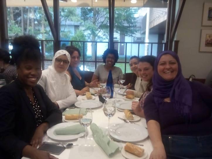 taller Afroféminas en Jornadas contra la Islamofobia en Universidad San Sebastían